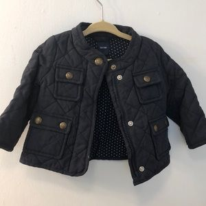 Gap baby girl fall jacket